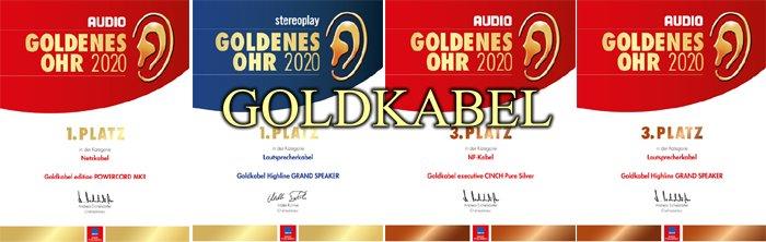 GoldKabel CINCH MKII RCA Kablo
