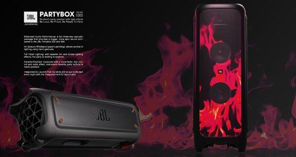 JBL PartyBox 1000 Bluetooth Parti Hoparlörü