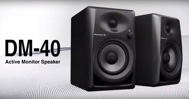 Pioneer DJ DM-40 Aktif Referans Monitör