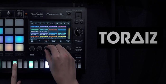 Pioneer DJ TSP-16 Profesyonel Drum Sampler ve Sequencer