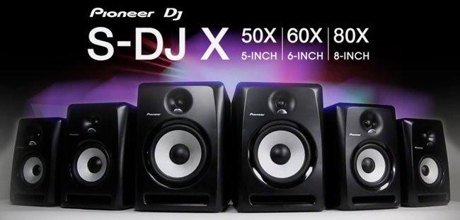 Pioneer DJ S-DJ80X Monitör
